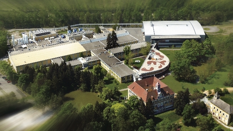 Luftbild der Waferfab von ams im Unterpremstätten in der Steiermark