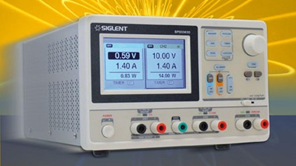 Die Labornetzgeräte der Serie »SPD3000« bieten  bieten die Ausgangsbetriebsarten »unabhängig«, »seriell« und »parallel«.