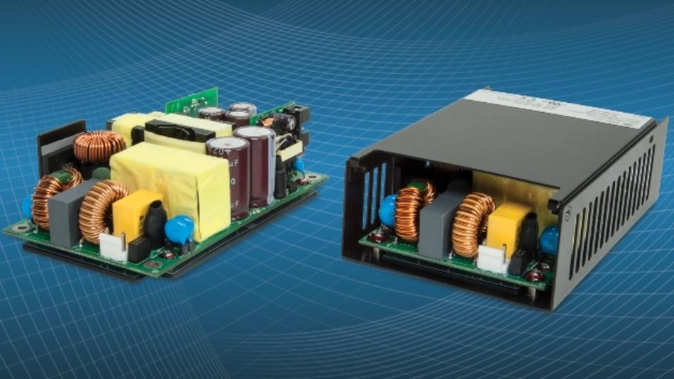 Bild 2: Das Modell »VBM360« ist eine Stromversorgung mit Baseplate und erzwungener Luftkühlung