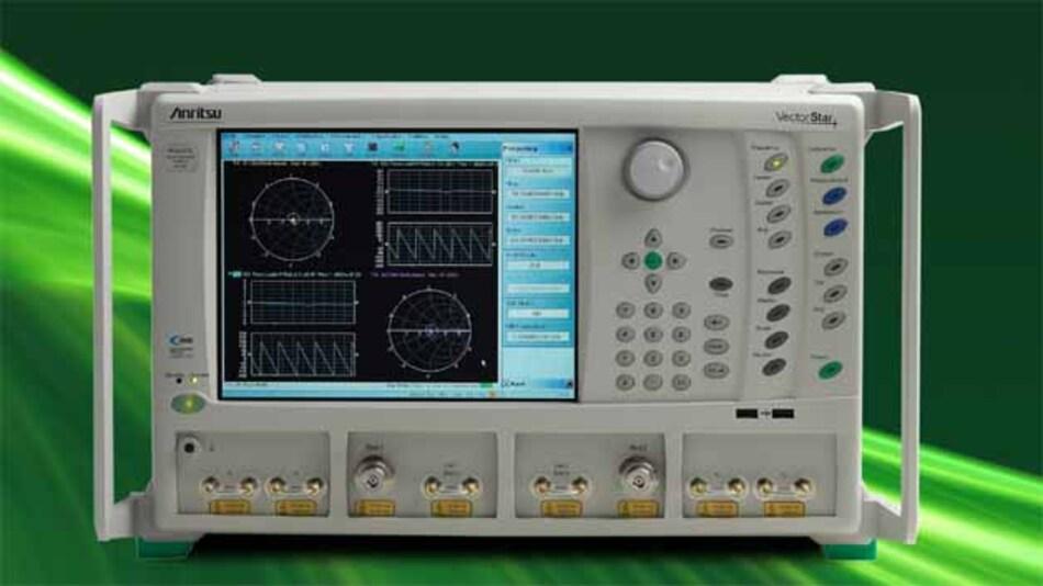 Vor allem mit innovativen Parametern im Pulsbereich punktet der neue Vektornetzwerkanalysator der Baureihe MS4640B.