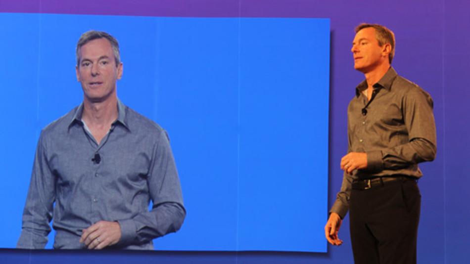 Qualcomm-CEO Dr. Paul Jacobs eröffnete die hauseigene Entwicklerkonferenz Uplinq 2013 mit seiner Keynote.