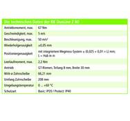 Rose+Krieger, technische Daten der RK DuoLine Z 80