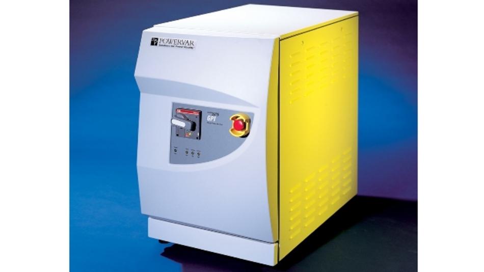 Um eine gleichförmige Energieversorgung sicherzustellen, verbindet der Dreiphasen-Stromkonditionierer »GPI 2000« einen Trenntransformator, einen Überspannungsschutz und ein Entstörfilter