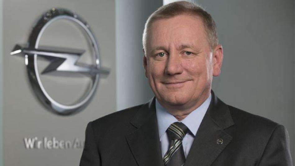 Übernimmt zum 01.11.2013 die Position des Vorstands für Vertrieb bei Opel: Peter Christian Küspert.