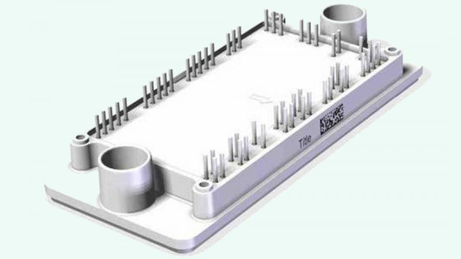 Das Leistungsmodul »flowMNPC 2« integriert die Leistungsbauelemente für den Aufbau eines Wechselrichters für 1.200 V / 160 A in einen 12 mm hohen Gehäuse.