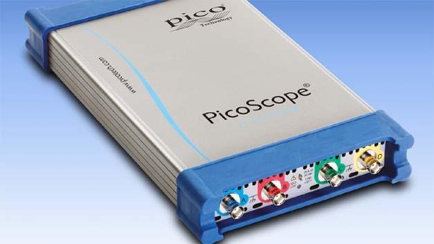 Mit beachtlichen 2 GS an maximalem Speicher arbeiten die neuen Multifunktions-Scopes der Picoscope-6000-Serie.