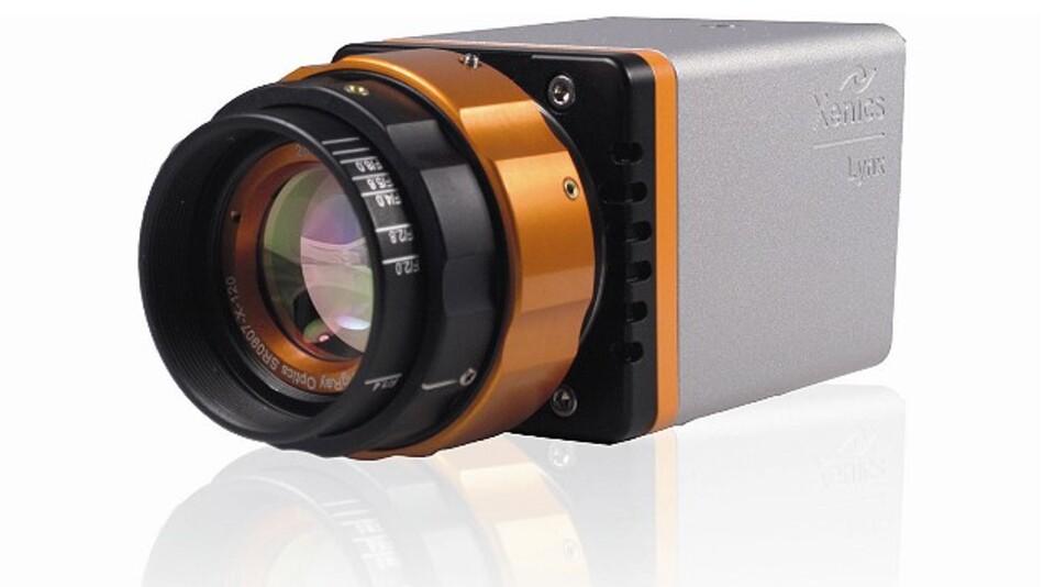 Kompakt gebaut sind die SWIR-Zeilenkameras der Serie »Lynx« von Xenics.