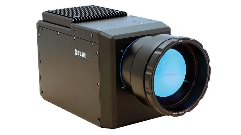 Über gekühlte Detektoren verfügen die Wärmebildkameras der A35x0sc/A65x0sc-Serie von Flir Systems.