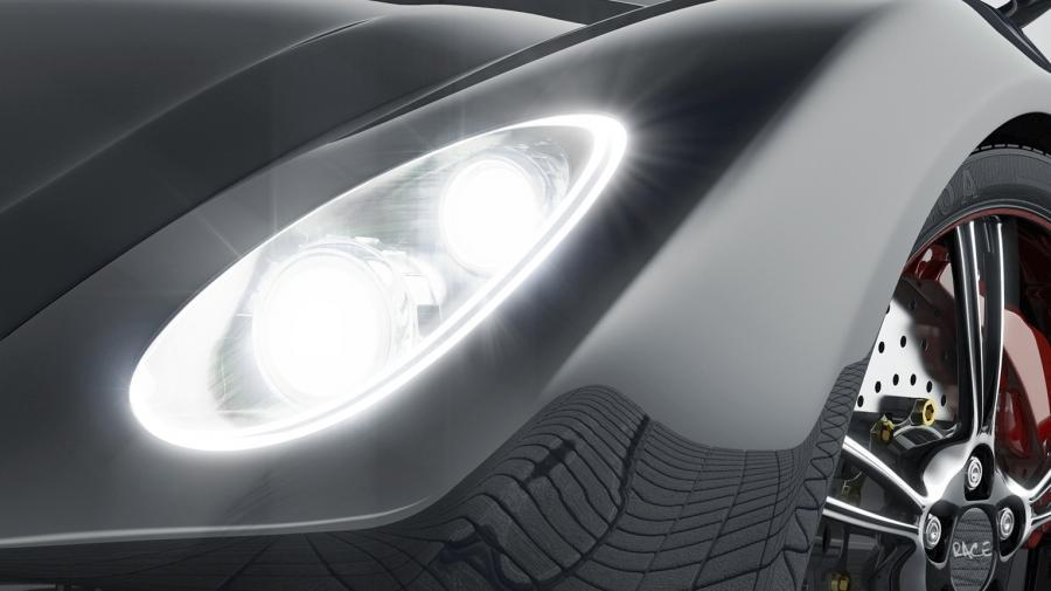 Homogene Lichtverteilung und kleine Gehäusemaße bietet die neue 2-Chip-LED Oslon Black Flat.
