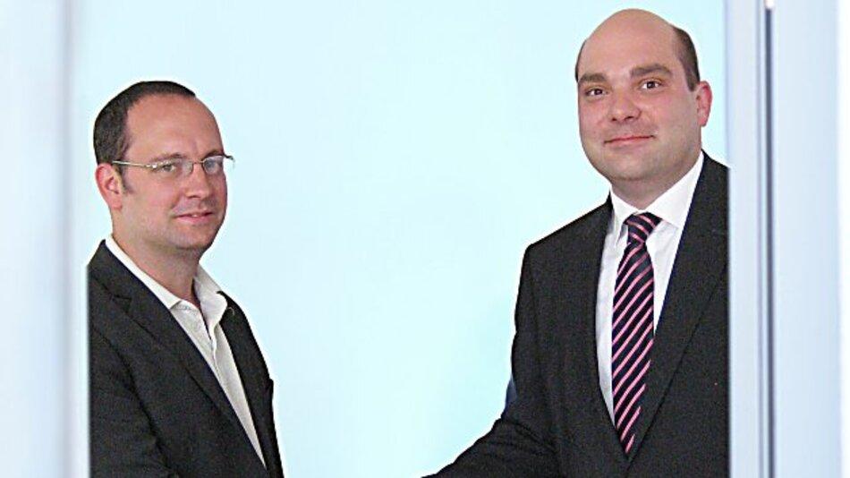Chris Emmerson, PDI (links) und Niels Hagen, WDI AG