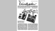 Titel 02 - Juli 1928: Das allererste funkschau-Titelbild