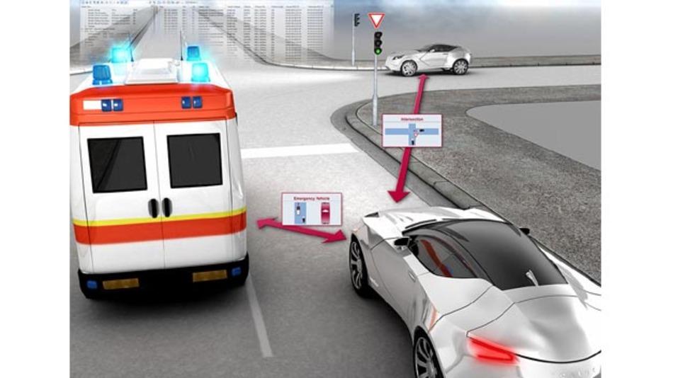 Vector setzt auf Car2X-Kommunikation.