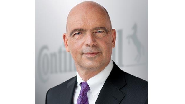 Ab sofort Vorsitzender des Continental Geschäftsbereichs Chassis & Safety: Frank Jourdan.