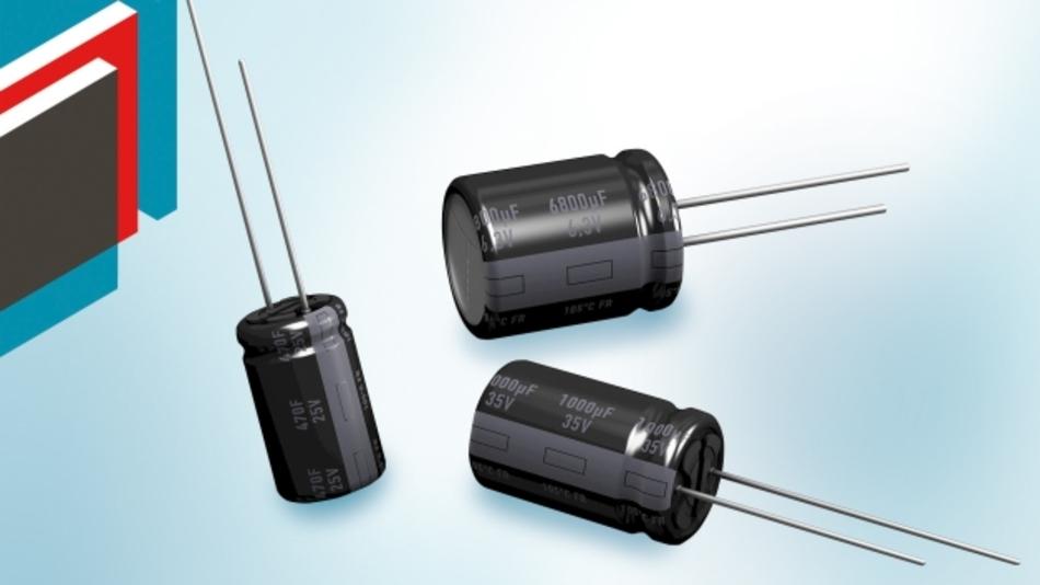 Aluminium-Elektrolyt-Kondensatoren der Baureihen FR und FT