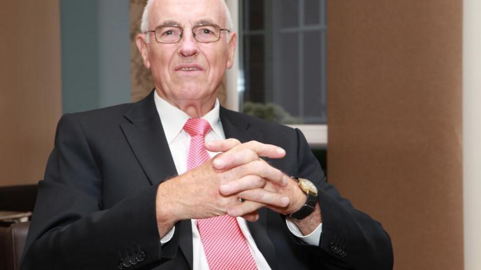 Firmengründer Fritz Lohmeier