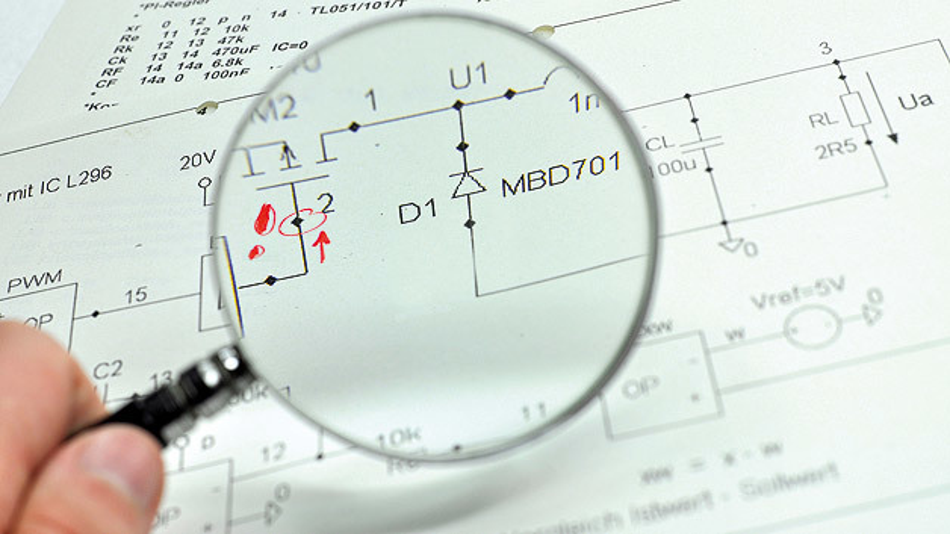 Ausfallanalyse an Leistungs-MOSFETs