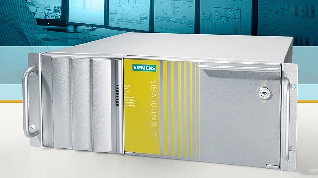 Mit einem Core-i7-Vierkernprozessor von Intel ist der 19-Zoll-Industrie-PC »Simatic IPC547E« von Siemens ausgestattet.