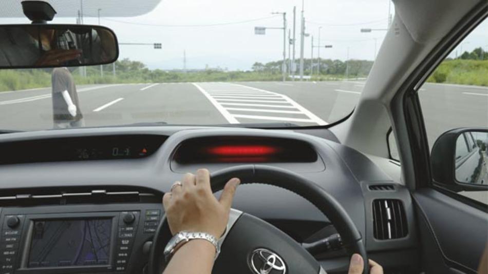 Präventives Sicherheitssystem von Toyota.