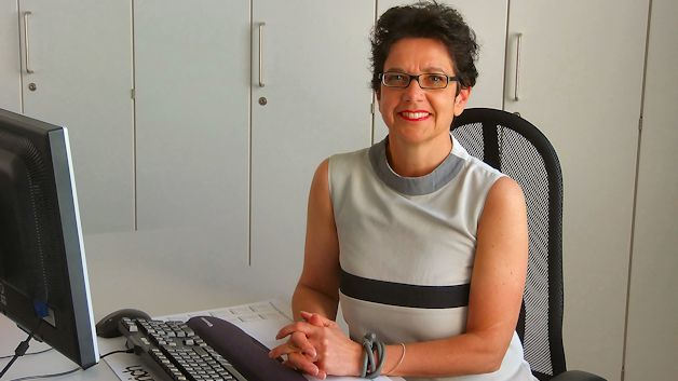 Dr. Christiane Endrich, Geschäftsführerin der Endrich Bauelemente GmbH