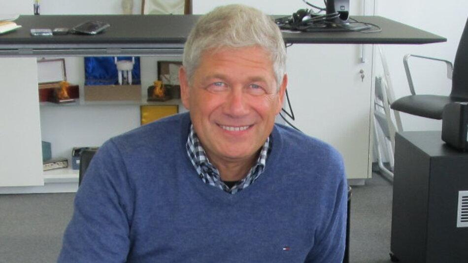 Prof. Hermann Eul ist bei Intel für das gesamte Mobilgeräte-Geschäft verantwortlich und berichtet direkt an CEO Brian Krzanich.