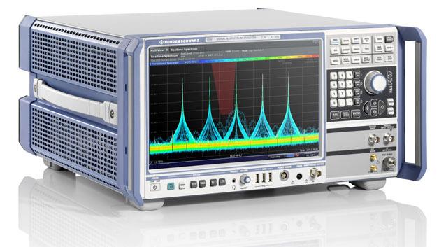 Einen Frequenzbereich bis 67 GHz deckt der Analysator R&S FSW67 durchgehend ab.