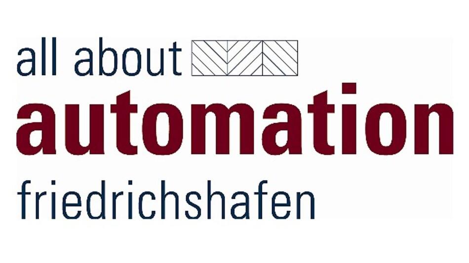 Das Logo der »all about automation friedrichshafen«