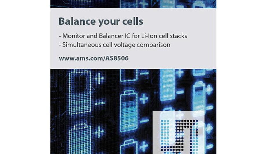 Überwachung und Ladungsausgleich von Lithium-Ionen-Zellen