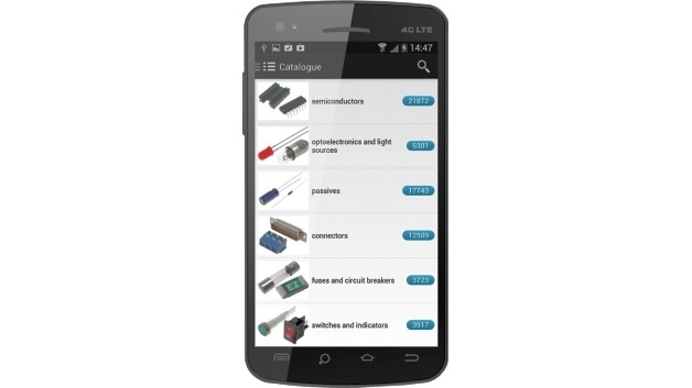 App namens TME mobile für Tablets und Smartphones