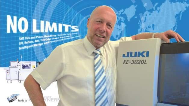 Jürg Schüpbach, Juki: »Im Moment verdient bei uns am Markt niemand Geld, und das muss man aushalten können - das schaffen nur die Größeren vernünftig.«