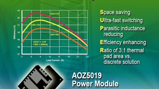 DrMOS-IIIS Leistungsmodule von AOS