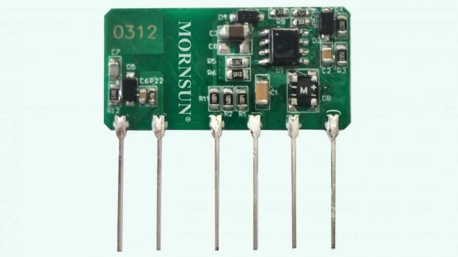 Die Module der LS03-R2S-Modulfamilie wurden im Hinblick auf den Einsatz im Smart Home konzipiert und lassen sich unmittelbar an das Wechselspannungsnetz anschließen.
