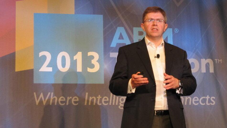ARMs Executive Vice President John Cornish will IoT-Entwickler mit einer ARMmbed genannten Plattform unterstützen.