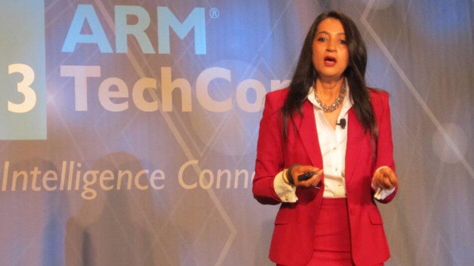 Oracles JAVA-Chefin Nandini Ramani sieht die Programmiersprache auch als Basis des IoT.