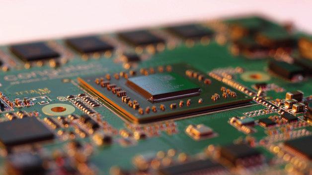 Bild 1. AMD Embedded G-Series System on Chip mit nur 24,5 × 24,5mm².