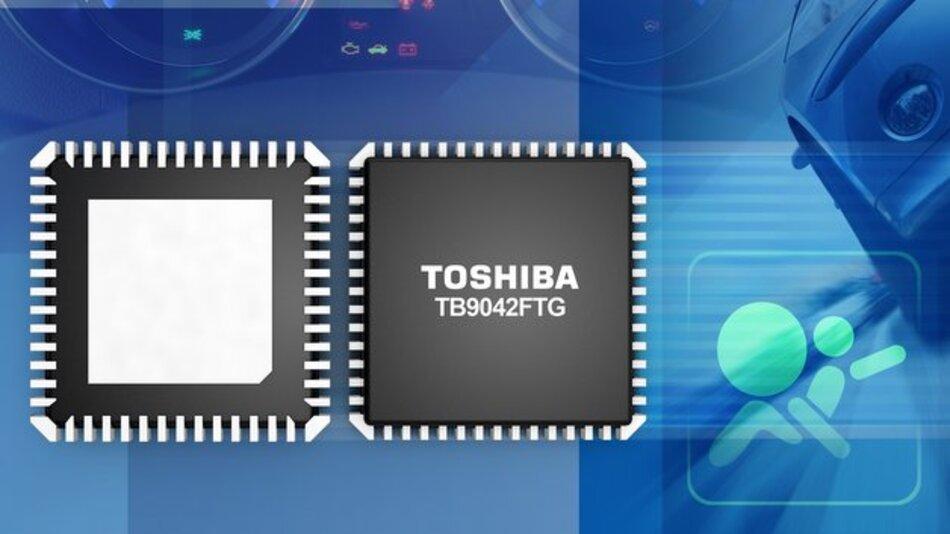 System-Basis-Chip TB9042FTG mit erweiterten Überwachungsfunktionen von Toshiba.