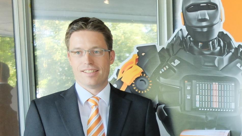 Dr. Timo Berger, Leider der neuen Interface-Sparte von Weidmüller