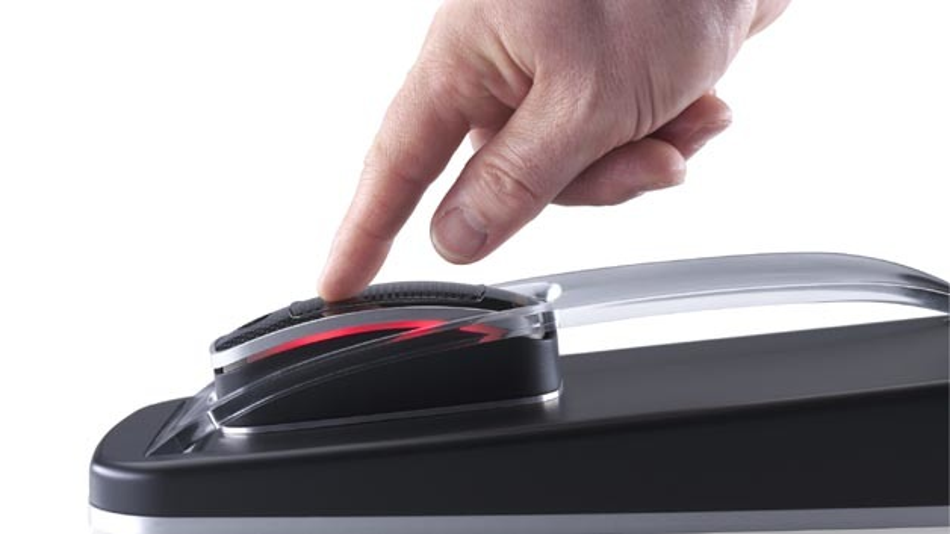 Effizient: Das Touchpad von Continental mit haptischer Rückmeldung.