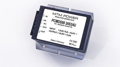 DC DC-Wandler PCMDS80 von MTM Power