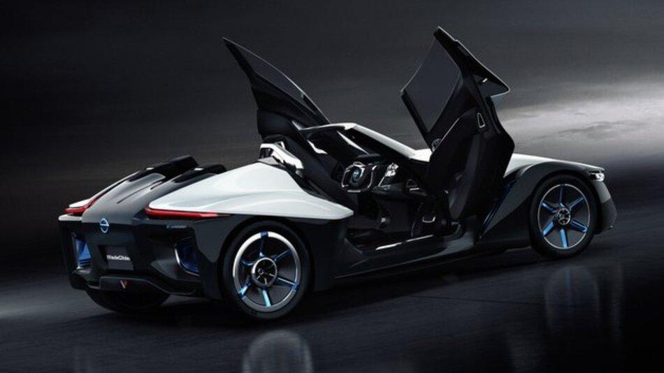 Setzt auf Elemente aus der Gleitflug-Technologie: der Nissan Bladeglider.