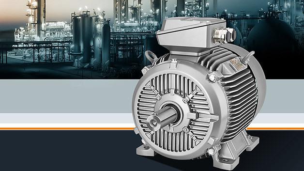 Siemens Simotics-XP-Motoren der Reihe 1MB1 gibt es ab sofort auch im Grauguss-Gehäuse.