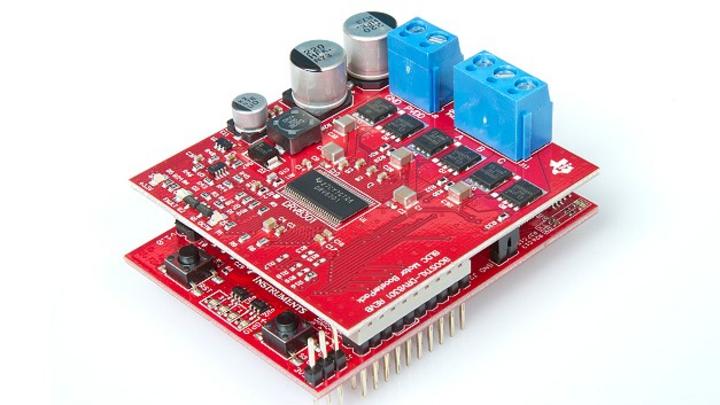 Mit dem LaunchPad »LaunchXL-F28027F« und dem BoosterPack »BoostXL-DRV8301« stellt TI ein preisgünstiges Entwicklungs-Kit für sensorlose FOC-Motoren mit 6-24 V / 0-10 A bereit.