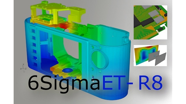 Softwareversion 8 der 3D-CFD-Simulationssoftware 6 sigmaET