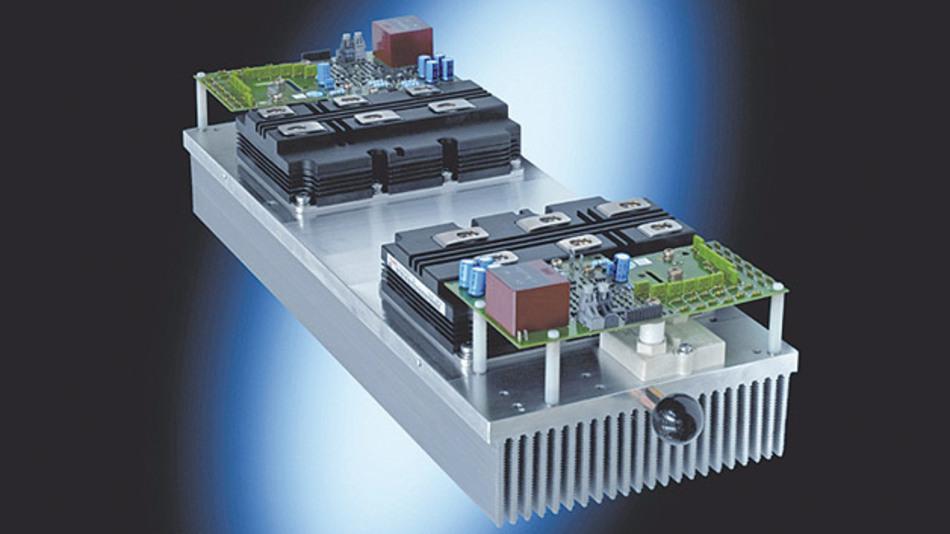 Unter der Leitung von Siemens wurden in dem BMBF-Projekt MV-SiC weltweit erstmals Siliziumkarbid-Dioden in Mittelspannungsumrichtern für Großantriebe erprobt.
