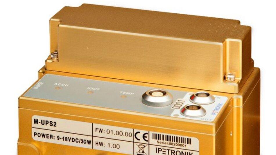 Das Stromversorgungsmodul M-UPS2 von Ipetronik.