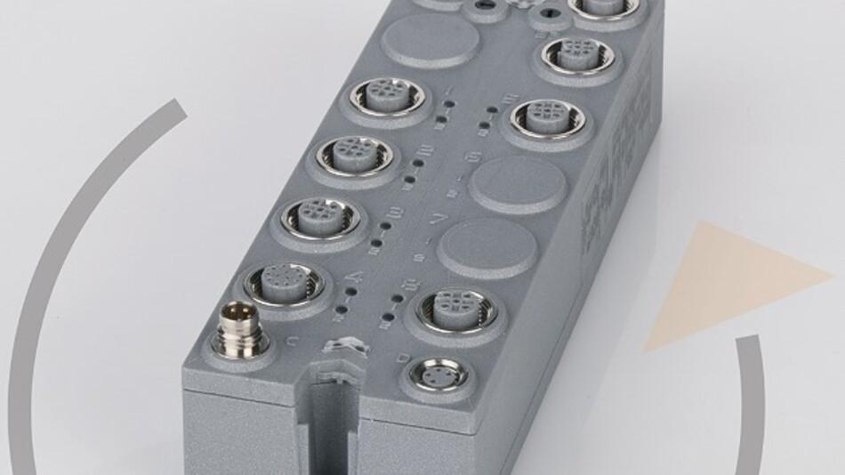 Die »reAction«-Technik ist plattformunabhängig und lässt sich daher in I/O-Module der Serien X20 und X67 (im Bild) ebenso integrieren wie in andere I/O-Module aus B&Rs Produktsortiment.