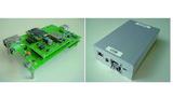 Bild 3: Realisierter Scanning-Receiver in Hardware ohne und mit Gehäuse