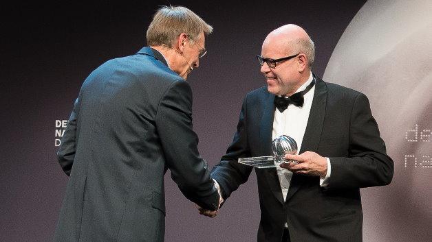 """Rainer Hundsdörfer, Vorsitzender der Geschäftsführung der ebm-papst Unternehmensgruppe: """"Wir freuen uns enorm über diesen international prestigeträchtigen Preis."""""""