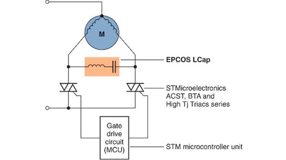 Kondensator-Drossel-Kombination: Ansteuermodul für bidirektionale ...