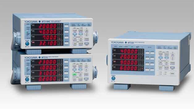 Eine neue Serie von Leistungsmessgeräten der Firma Yokogawa nennt sich WT300; sie zählen zu den Präzisions-Leistungsmessern.