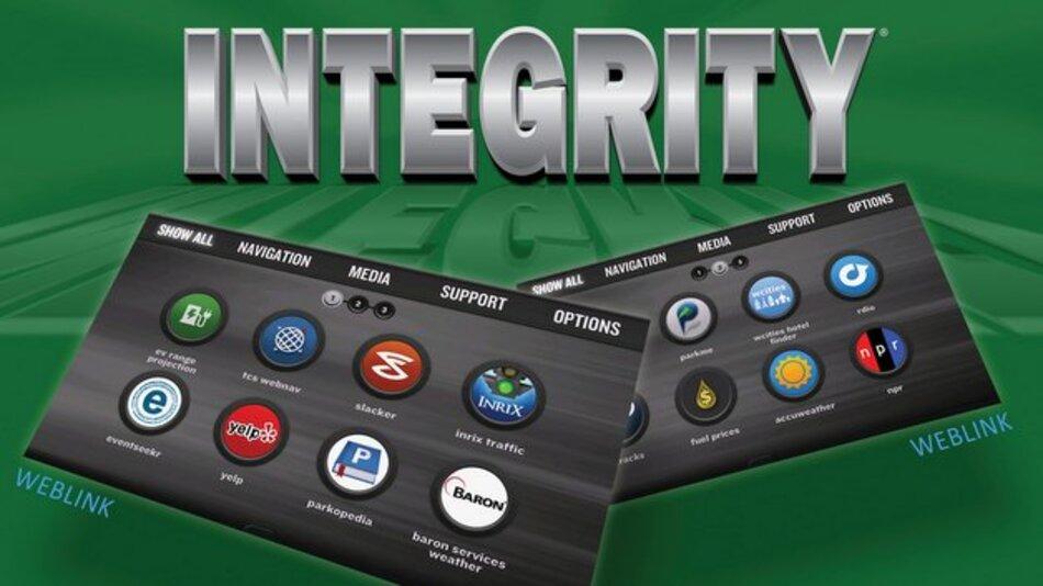 Weblink und Integrity sollen eine sicher vernetzte Fahrzeuglösung zur Synchronisation mit jedem Smartphone ermöglichen.